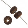 Coco Round Pukalet 4mm Brown